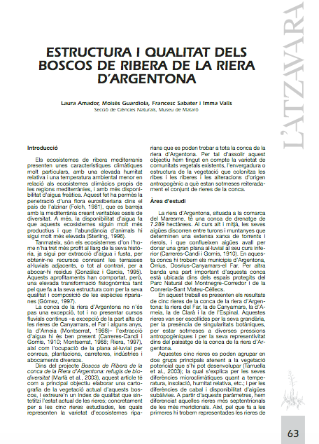 Amador-2003-Estructura